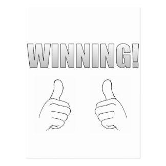Winning Post Card