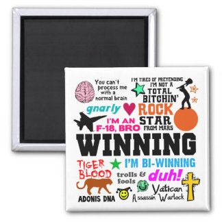 Winning Quotes Magnet