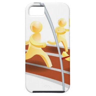 Winning race concept iPhone 5 cases