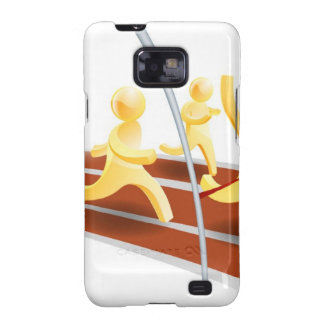 Winning race concept galaxy SII covers