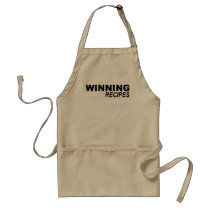 WINNING RECIPES ADULT APRON