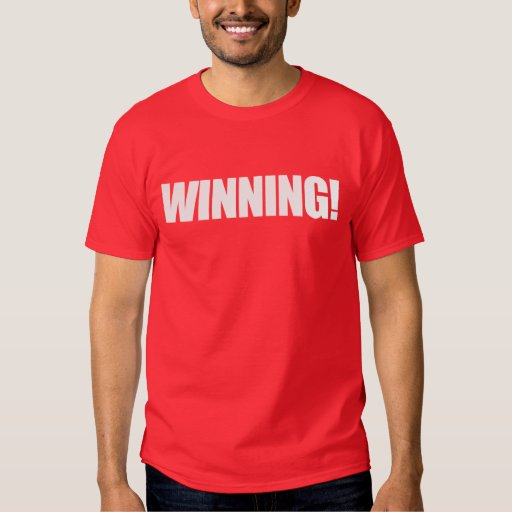WINNING Red T-Shirt