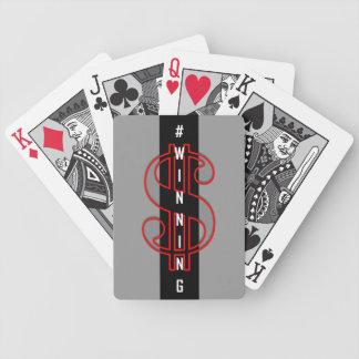 #WINNING (RGB) BICYCLE PLAYING CARDS
