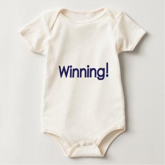 winning! sheen baby bodysuit