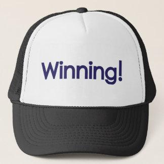 winning! sheen trucker hat