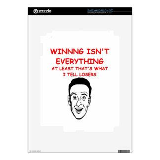 winning iPad 2 decal