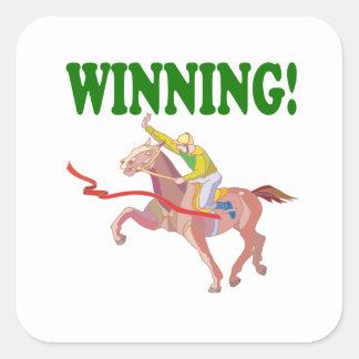 Winning Square Sticker
