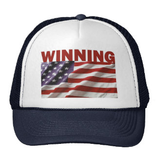 Winning - The United States of America Trucker Hat