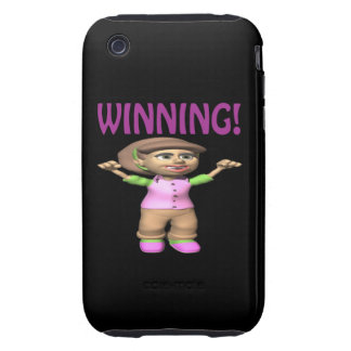 Winning Tough iPhone 3 Cover