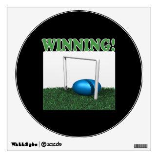 Winning Wall Sticker