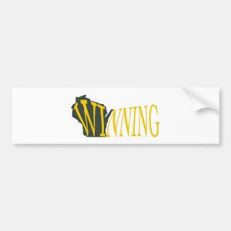 Winning Wisconsin Bumper Sticker