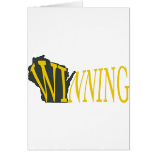 Winning Wisconsin Card