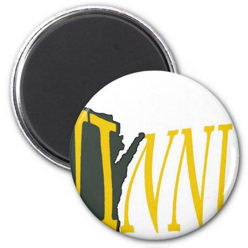 Winning Wisconsin Fridge Magnets