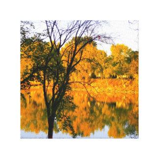 Winnipeg Autumn Canvas Print