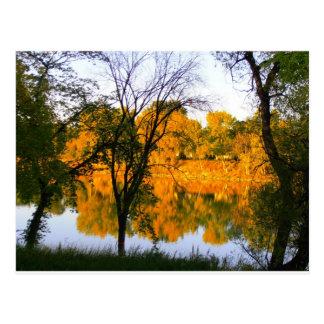Winnipeg Autumn Postcard