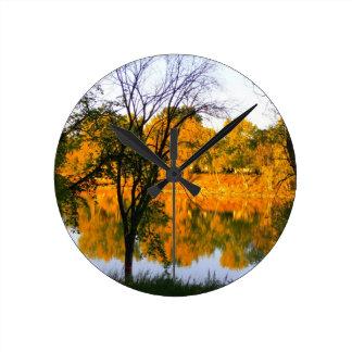 Winnipeg Autumn Round Clock