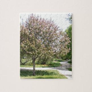 Winnipeg Blossom Jigsaw Puzzle