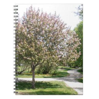 Winnipeg Blossom Spiral Notebook