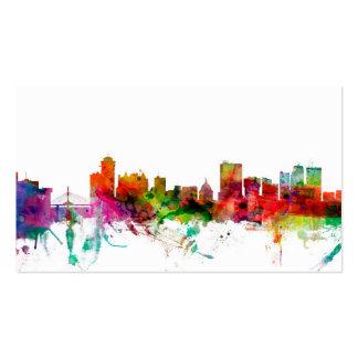 Winnipeg Canada Skyline Business Card Templates