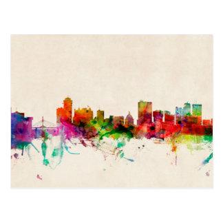 Winnipeg Canada Skyline Cityscape Post Card