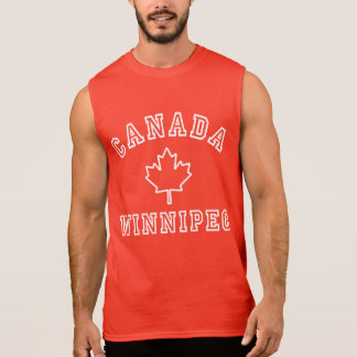 Winnipeg Canada Sleeveless Shirt