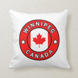 Winnipeg Canada Throw Pillow