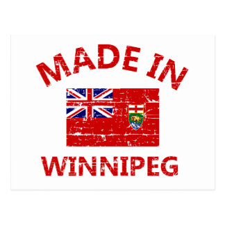 Winnipeg Coat of arms Postcards