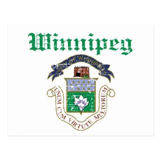 Winnipeg designs postcard