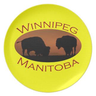 Winnipeg Dinner Plate