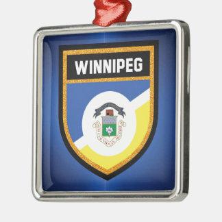 Winnipeg Flag de Metal Ornament