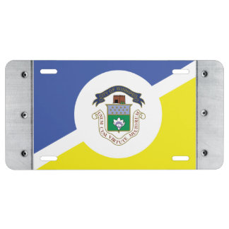 WINNIPEG Flag License Plate