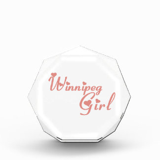 Winnipeg Girl Acrylic Award