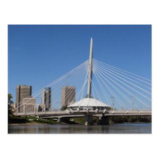 Winnipeg Provencher Bridge Postcard