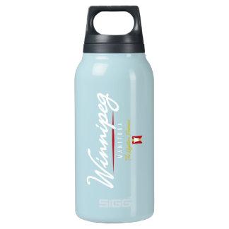 Winnipeg Script Insulated Water Bottle