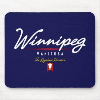Winnipeg Script Mouse Pad