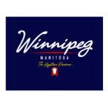 Winnipeg Script Post Card
