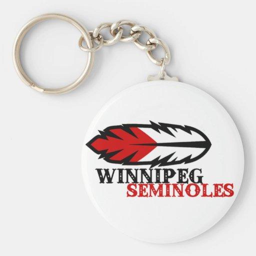 Winnipeg Seminoles Keychain