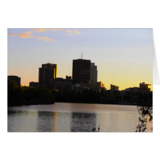 Winnipeg Skyline Card