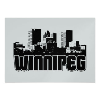Winnipeg Skyline Card