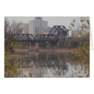 Winnipeg Train Bridge Card