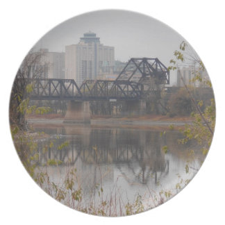 Winnipeg Train Bridge Plate