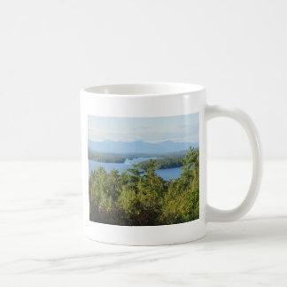 Winnipesaukee Overlook Classic White Coffee Mug