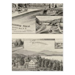 Winnipiseogee House, Lakeside House Postcards