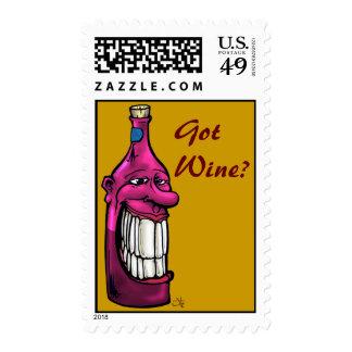 Wino, GotWine? Postage Stamp