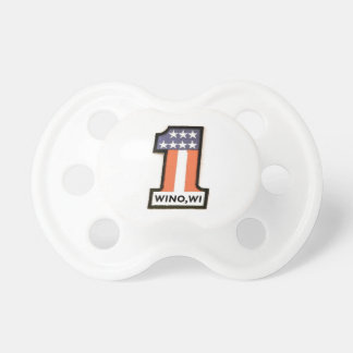 Wino, WI Baby Screaming Stopper Pacifier
