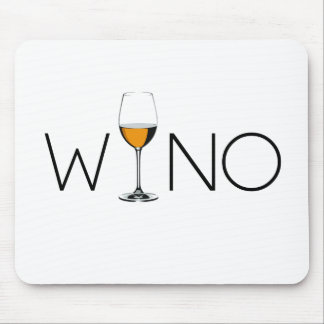 Wino Wine Lover Glass Mouse Pad