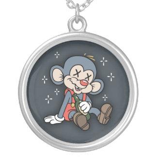 Wino Wombat Round Pendant Necklace
