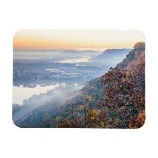 Winona Autumn Sunrise Magnet