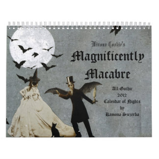 Winona Cookie's 2012 Magnificently Macabre Gothic Calendar