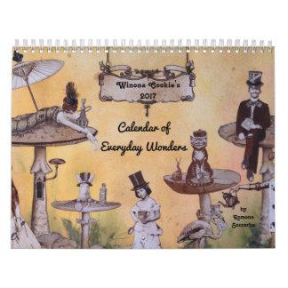 Winona Cookie's 2017 Calendar of Everyday Wonders